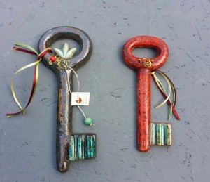 Κεραμικά κλειδιά πλακέ