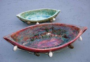 Κεραμικές βάρκες