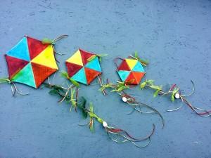 Κεραμικοί Χαρταετοί Οκτάγωνοι