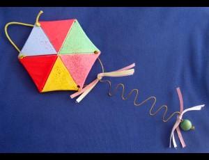 Κεραμικός Χαρταετός Οκτάγωνος mini