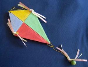Κεραμικός Χαρταετός Τρίγωνος mini