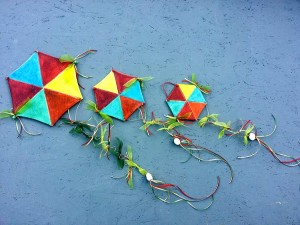 Ceramic Octagon Kites
