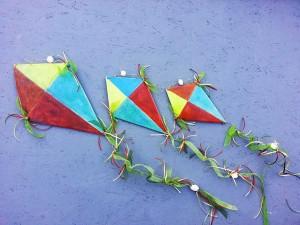 Ceramic Triangle Kites