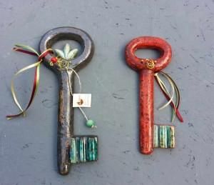 Ceramic flat keys