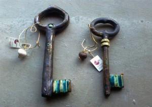 Ceramic round keys