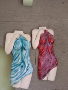 Ceramic woman